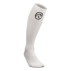QD Compression Socks White  M