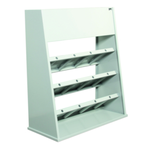 Storage rack for plaster models