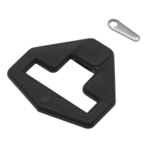 Webbing Plate with Wedge Closure